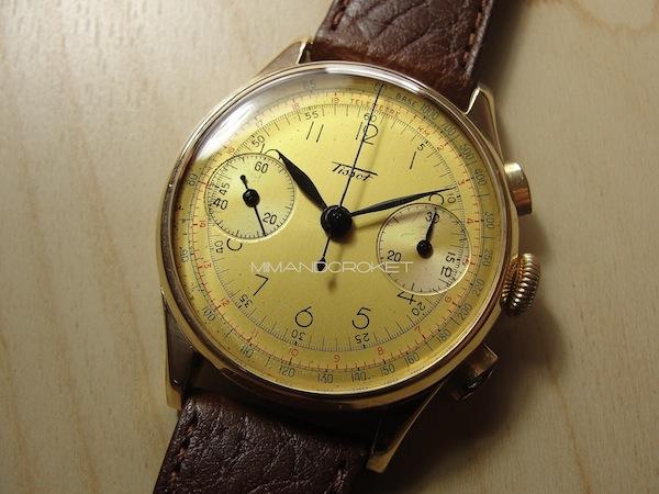 Tissot Chronograph Two Tone dial
