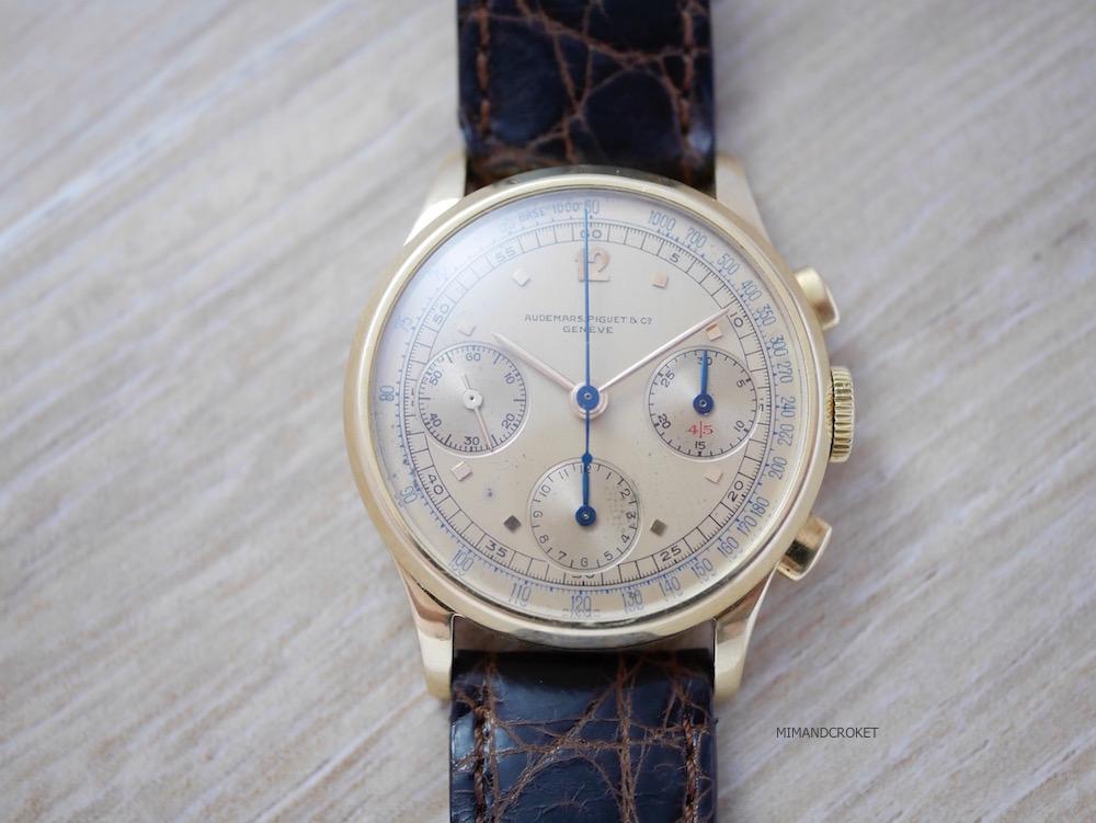 Audemars Piguet 3 register chronograph